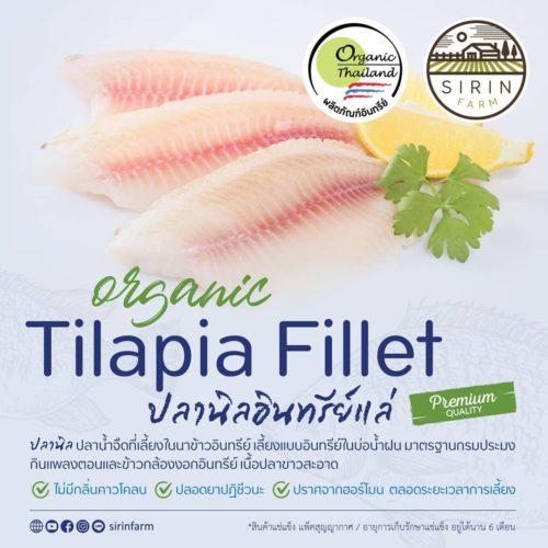 Organic Tilapia Fillet